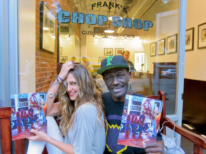 Officially being release June 11th my first published book on graffiti legend Stay High 149. This is us posing outside Franks Chop Shop, for our first photo op with our long awaited book. Got get it everyone who knows about the real deal graffiti king they know this is a must have. Available now at-Scrap Yard - NYC 33Third - Los Angeles Strand Bookstore - NYC Bombing Science - Montreal, Canada Dia Beacon - Beacon NY DOMY - Austin Greenlight Bookstore - Brooklyn International Center of Photography - NYC Oscar's Books - Vancouver, Canada Quimby's Bookstore - Chicago Skylight Books - Los Angeles Spoonbill & Sugartown - Brooklyn Tattered Cover Bookstore - Denver