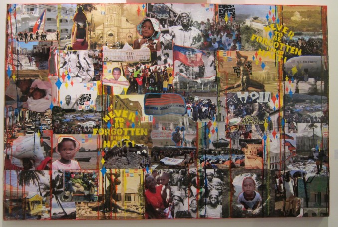 """Never To Be Forgotten This piece is part Haiti Art Expo 2010, Scope Miami, Art Basel 2010"