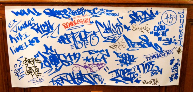 OG LEGENDS unite , Writers tribute tag piece at Stay High 149 memorial