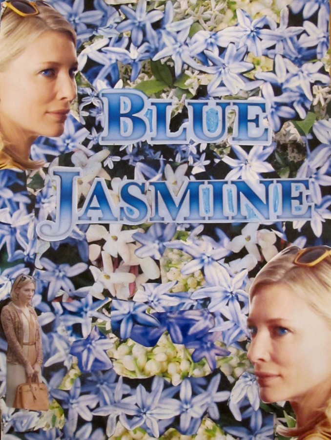 blue jasmine poster commissioned by Paradiso Films